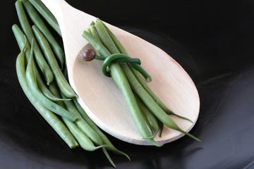 Green Beans Bundled