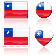 Bandeiras Chile