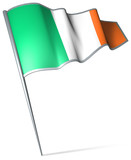 Flag pin - Ireland