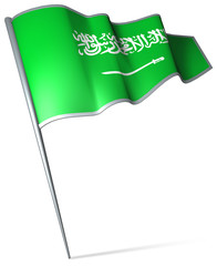 Flag pin - Saudi Arabia