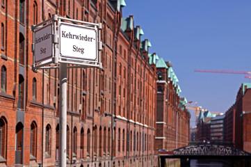 Speicherstadt Hamburg, Kehrwiedersteg