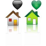 Ecological House versus Regular House poster