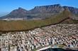 Blick auf Kapstadt, Südafrika