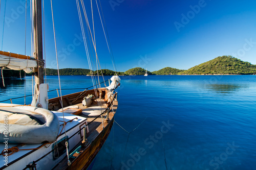Anchoring at lastovo, croatia - 13665875
