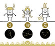 Zodiac signs - Earth