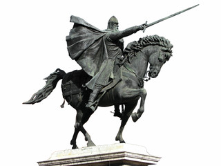 El Cid Statue with Clipping Mask
