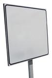 blank bulletin board poster