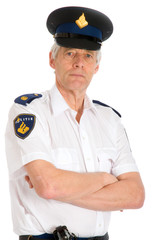 Dutch Police man