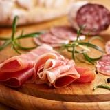 Italian ham and salami