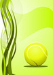 Vector tennis Background