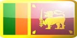 Flag of Sri Lanka button poster