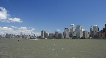 New York City daytime view