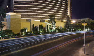 Las Vegas city traffic
