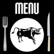 Steak Menu Template