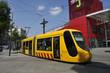 Leinwandbild Motiv tramway de mulhouse