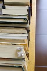 Mensola con libri