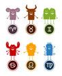 cartoon Zodiac 1