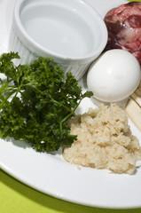 passover symbolic ceremonial seder plate