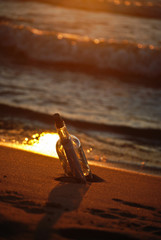 Beached Bottle
