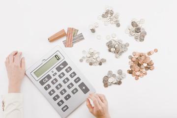 Calculating small savings