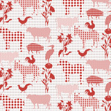 Abstract Animals Pattern