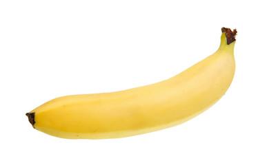 Banana isolated over white