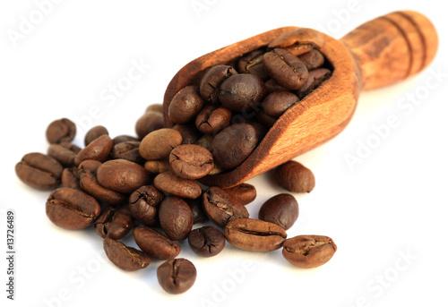 Foto op Canvas Cafe quelques grains de café