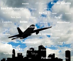 viaggi, città del mondo