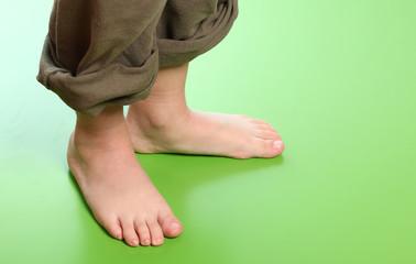 piedi di un bambino