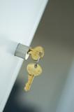 locker keys safety vault poster