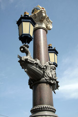 Amsterdam, lampadaire