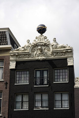 Moulures d'immeuble, Amsterdam