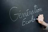 écologie génération enfant avenir environnement protéger école poster