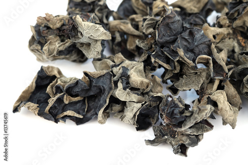 """""""champignon noir chinois, """"oreille de chat"""""""" Stock photo ..."""
