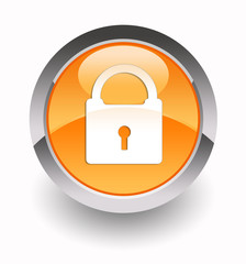 Security glossy icon