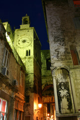 The Ancient Streets of Trogir, Croatia