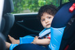 baby in carseat - 13751479