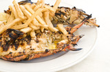 Grilled Caribbean Lobster poster