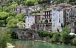 Leinwandbild Motiv Sauve, village Cévennes France