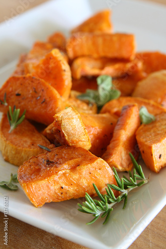 Roasted Sweet Potatoes