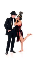 Retro couple, Lindy Hop