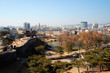 Hwaseong Fortress, view from top, Suwon, South Korea