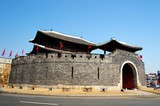 Paldalmun, Gate in Hwaseong Fortress, Suwon, Korea