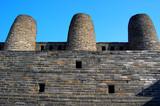 3 Chimney In Hwaseong Fortress,Suwon, South Korea