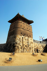 Sentry Building in Hwaseong Fortress, Suwon, South Korea