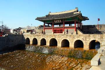 Suwoncheon, Northern Gate in Hwaseong Fortress, Suwon