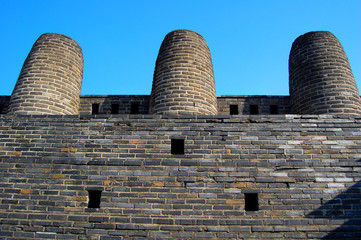 3 Chimney In Hwaseong Fortress,Suwon, South Korea