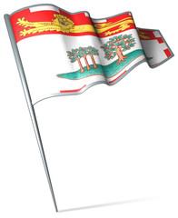 Flag pin - Prince Edward Island (Canada)