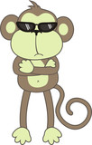 bodyguard monkey poster