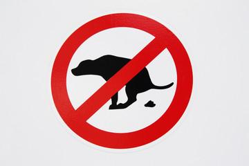 Verboten Hundekot